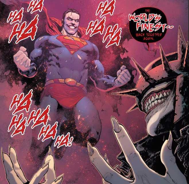 Batman / Superman 2 - El superman que ríe