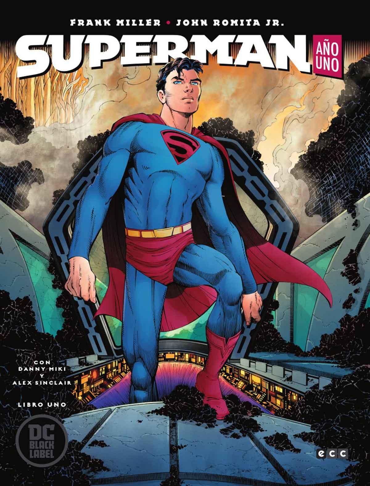 DC BLACK LABEL / SUPERMAN / SUPERMAN: AÑO UNO DE FRANK MILLER Y JOHN ROMITA JR
