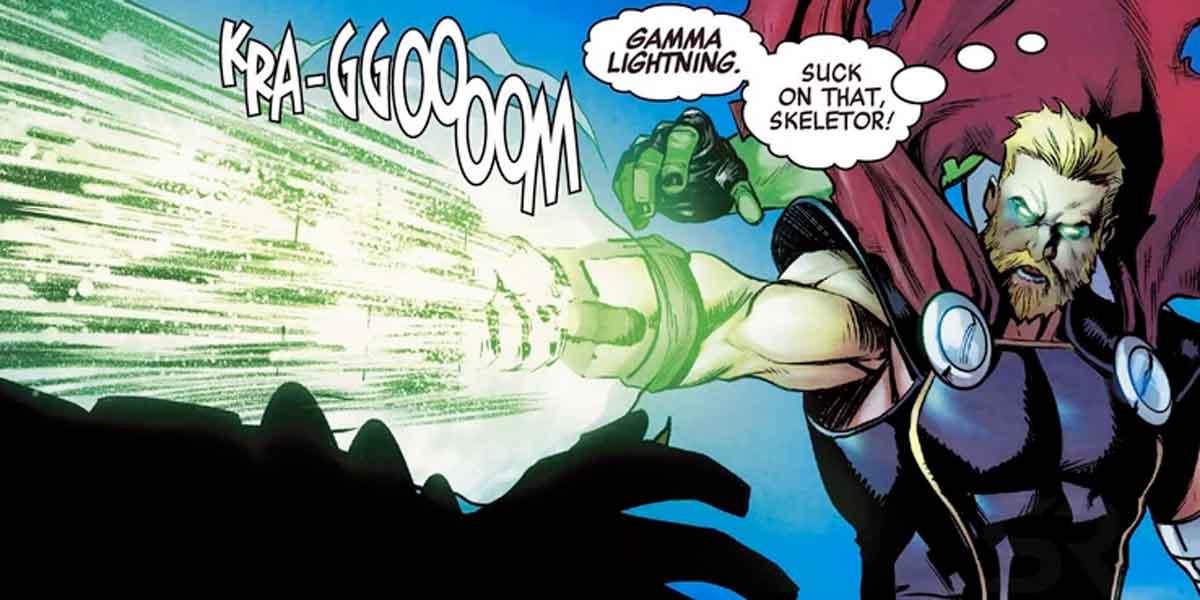 Thor y She-Hulk (Hulka) desatan todo su poder juntos Marvel
