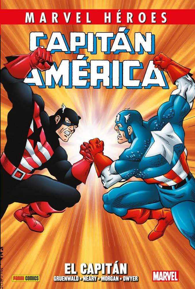 MARVEL Héroes: Capitán América de Mark Gruenwald