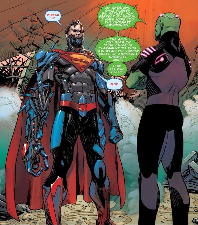 Cyborg Superman Zor-El