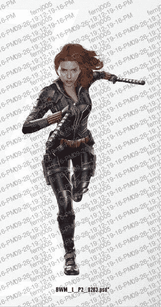 Arte promocional de Black Widow