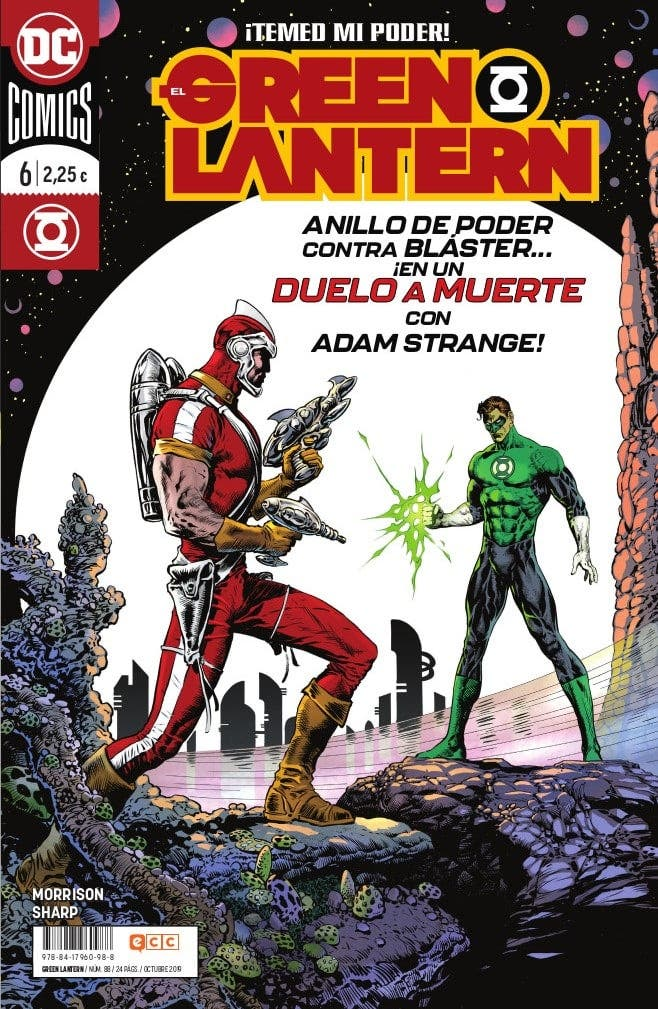 El green Lantern N 6. Hal Jordan VS Adam Strange