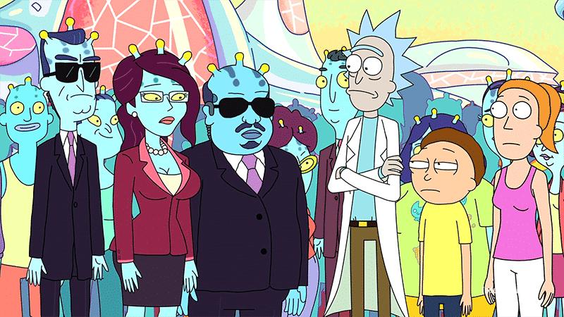 Rick and Morty mente de colmena