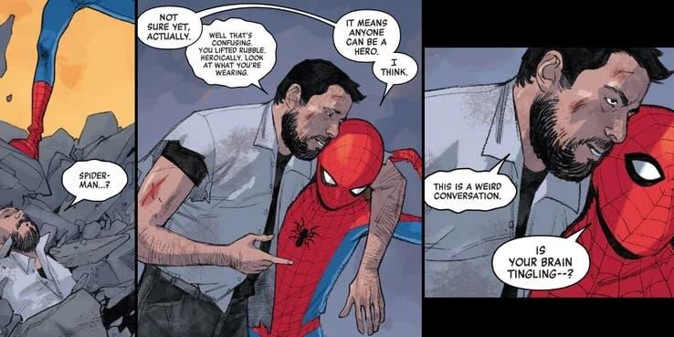 Spider-Man Cameo Greg Grunberg