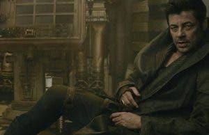 Benicio del Toro es DJ en Star Wars Los últimos jedi