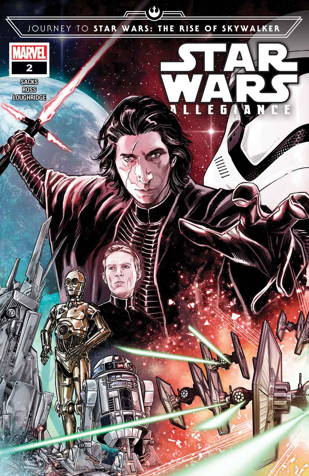 Journey to Star Wars: The Rise of Skywalker - Allegiance # 2 confirma que Kylo Ren finalmente ha superado a Darth Vader