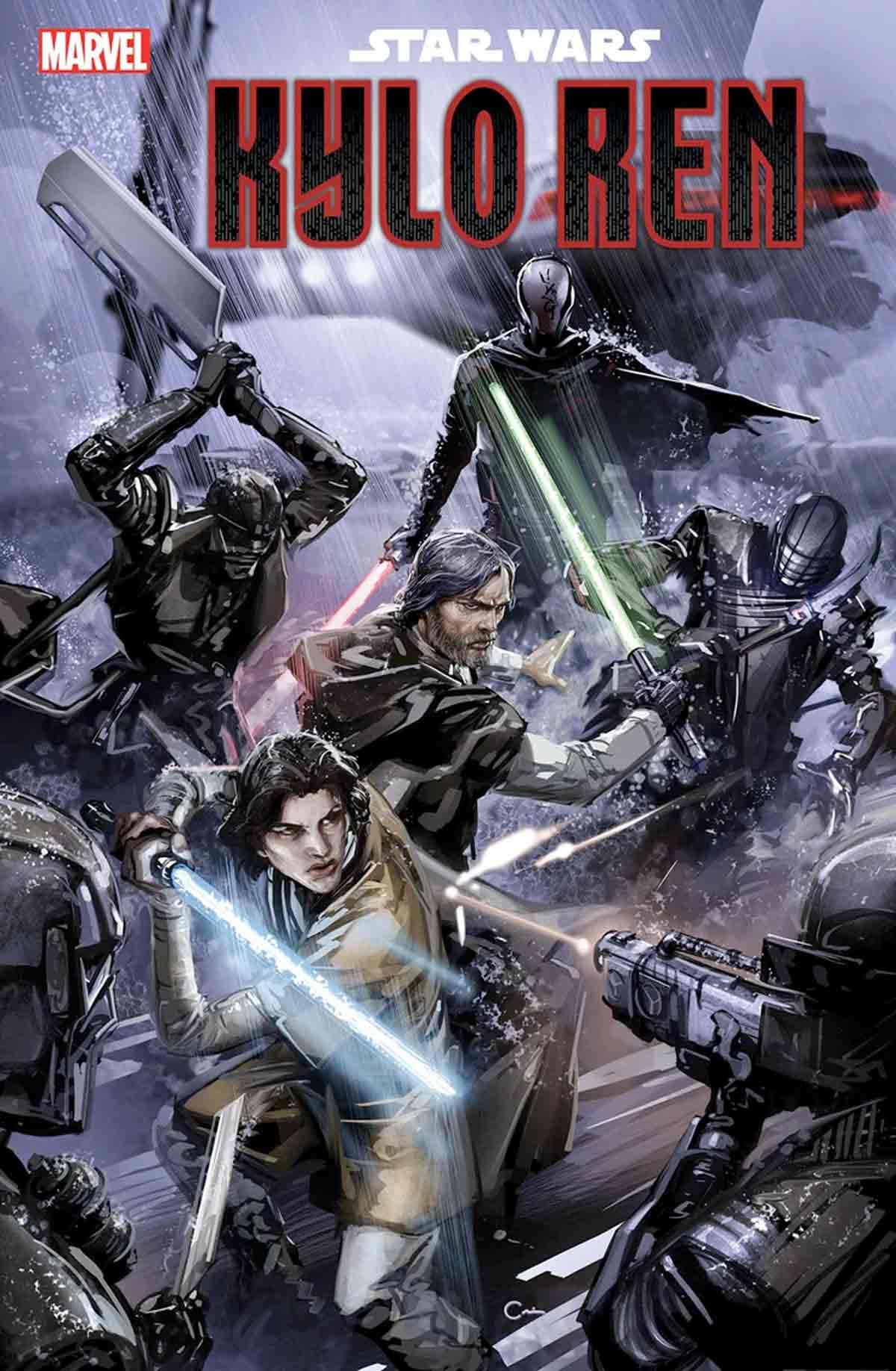 Luke Skywalker y Kylo Ren se enfrentaron a los Caballeros de Ren