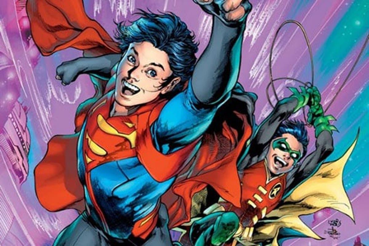 Superman: El hijo de Batman quiere unirse a otro Súper equipo