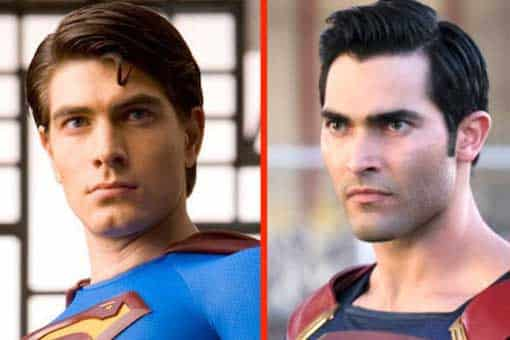 Arrowverso: Primera imagen de los Superman de Brandon Routh y Tyler Hoechlin