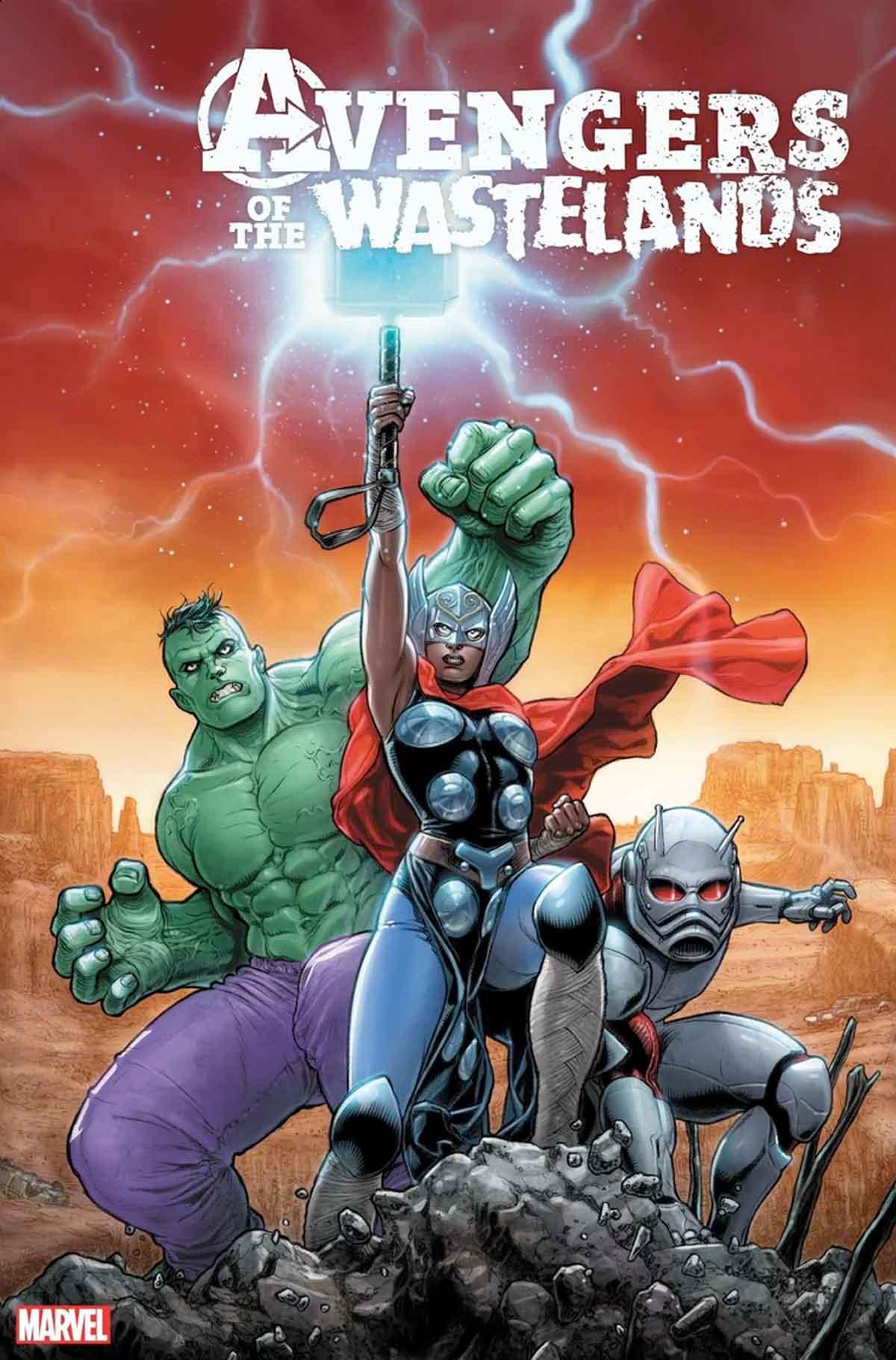 Así son los Vengadores en el mundo de Old Man Logan
