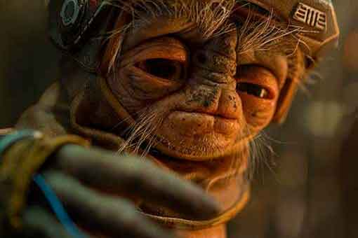 Star Wars 9: Primera imagen del extraño alienígena Babu Frik