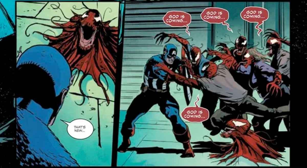 Carnage provoca que los Vengadores se unan en un Mega Crosoover