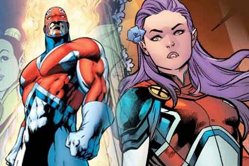 Marvel revela la nueva Capitana Britania