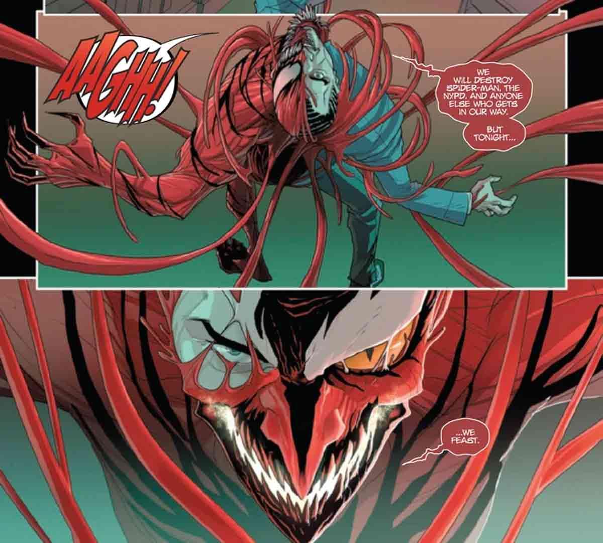 Carnage hace un trato letal con un villano de Marvel