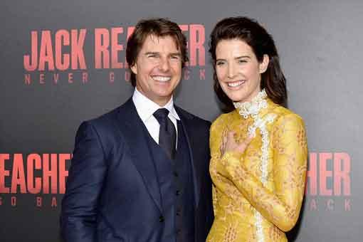Tom Cruise enseñó a Cobie Smulders todo lo que sabe sobre escenas de acción