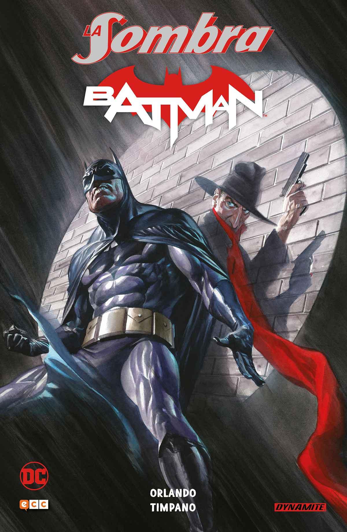 Portada La sombra / Batman