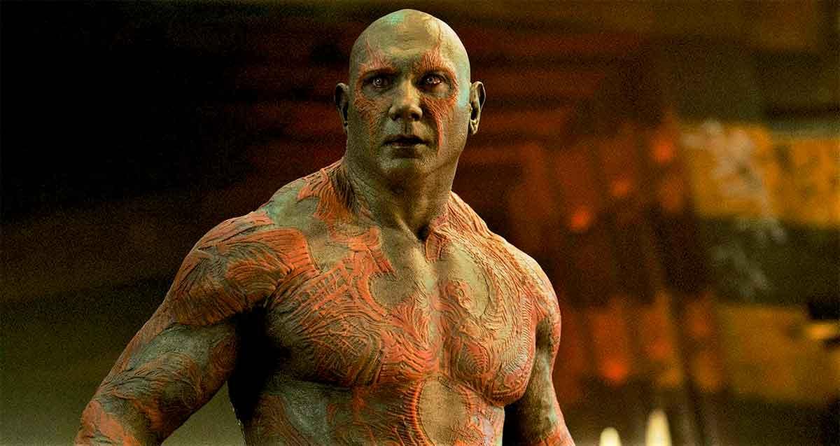 La lucha para que Dave Bautista fuera Drax en Guardianes de la Galaxia