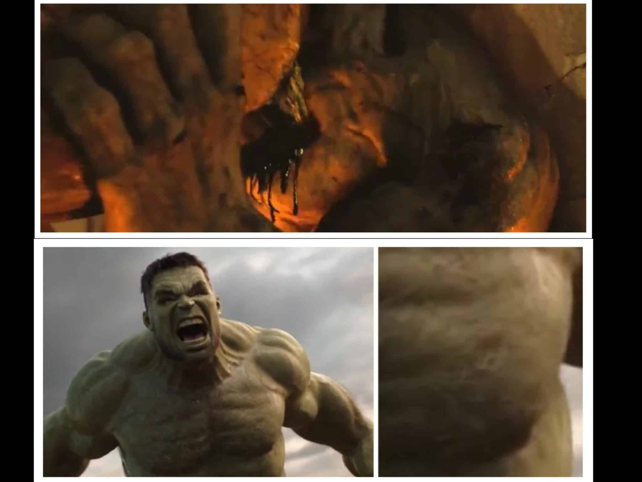 El Hulk de Mark Ruffalo tiene un pequeño easter egg de Edward Norton en Thor: Ragnarok