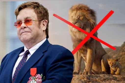 """Elton John """"decepcionado"""" con la nueva versión de El Rel León"""
