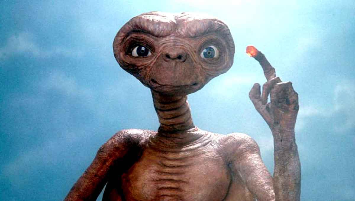 Steven Spielberg casi convierte a E.T. (1982) en una película de terror