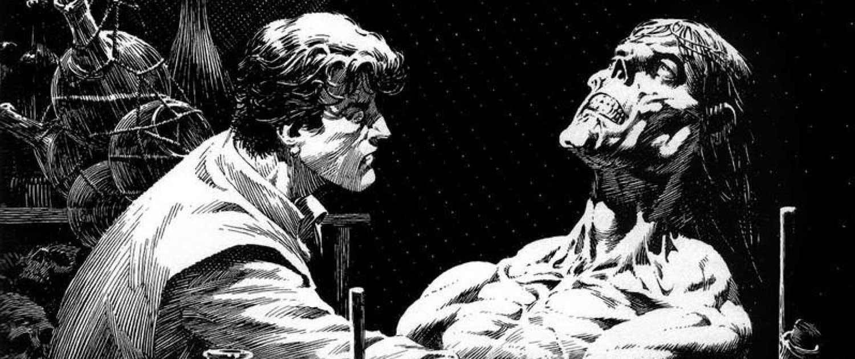 Frankenstein ¡Está vivo! de Bernie Wrightson y Steve Niles