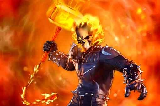 El Martillo de Ghost Rider es mucho más grande que el de Thor