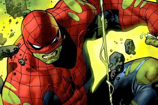 Marvel mostrará el resultado de fusionar a Hulk con Spider-Man