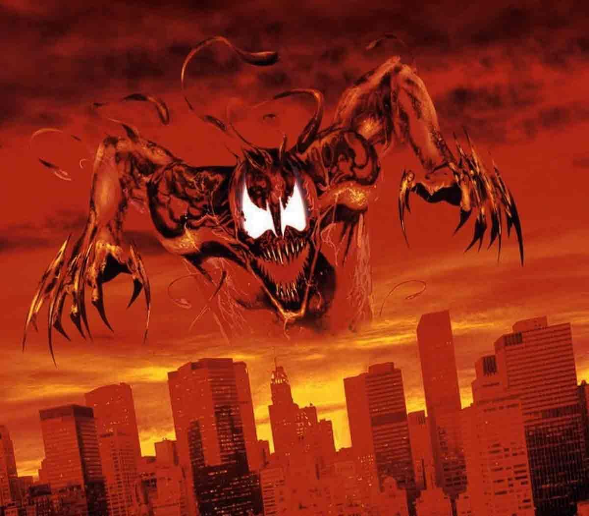 Impactante imagen de Carnage de Venom: Habrá matanza