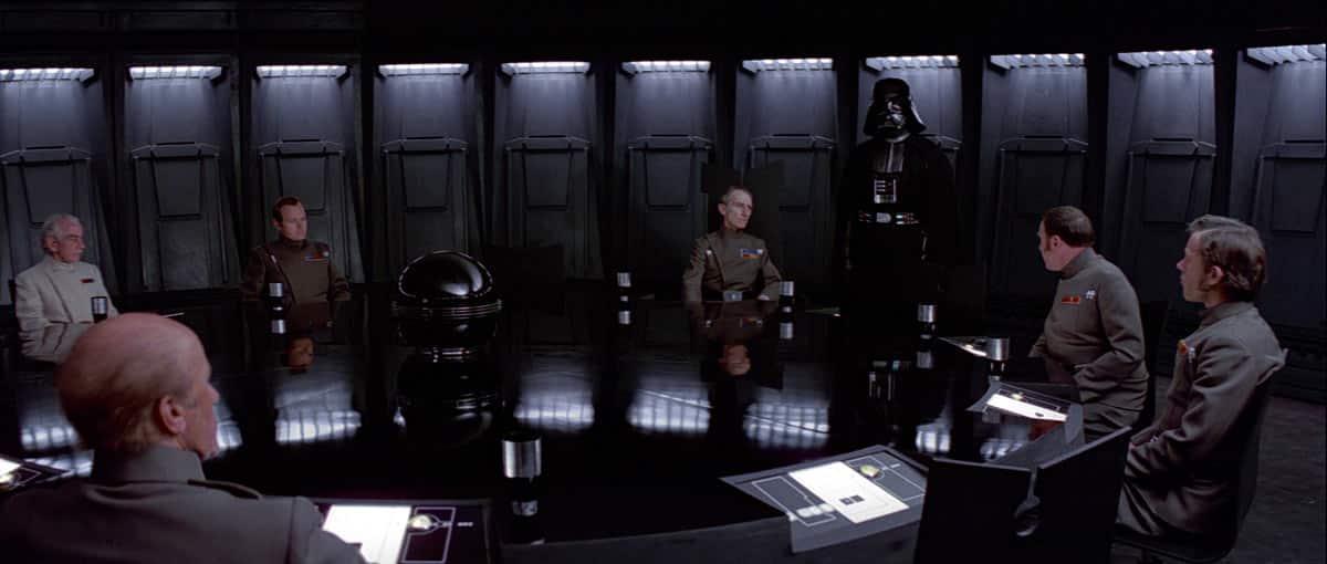 mesa redonda estrella de la muerte