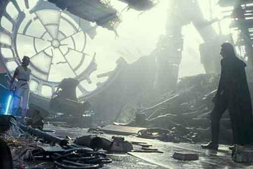 Star Wars 9: Planeta donde están los restos de la Estrella de la Muerte