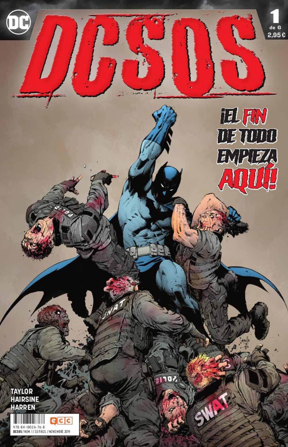 portada DCSOS N1 de DC Comics