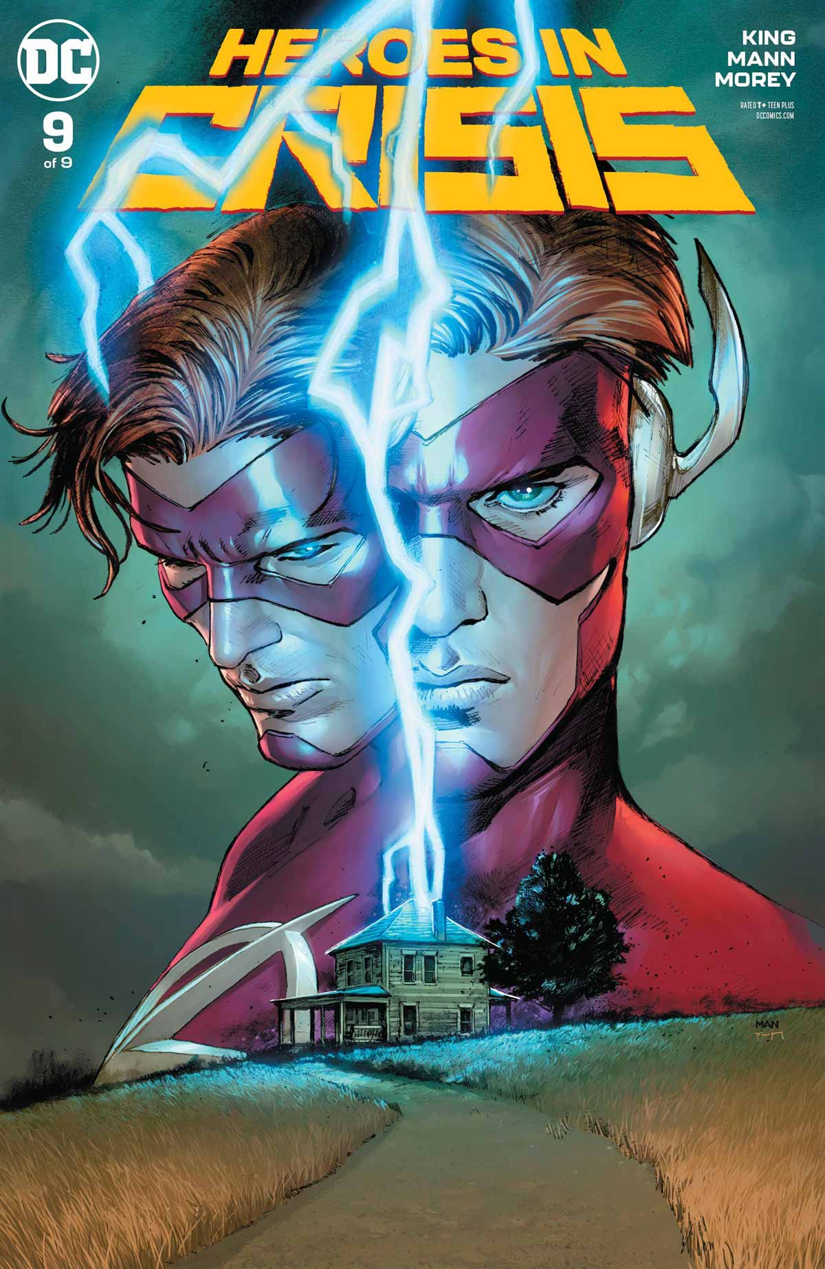 Portada de Héroes en crisis Nº 9 DC Comics