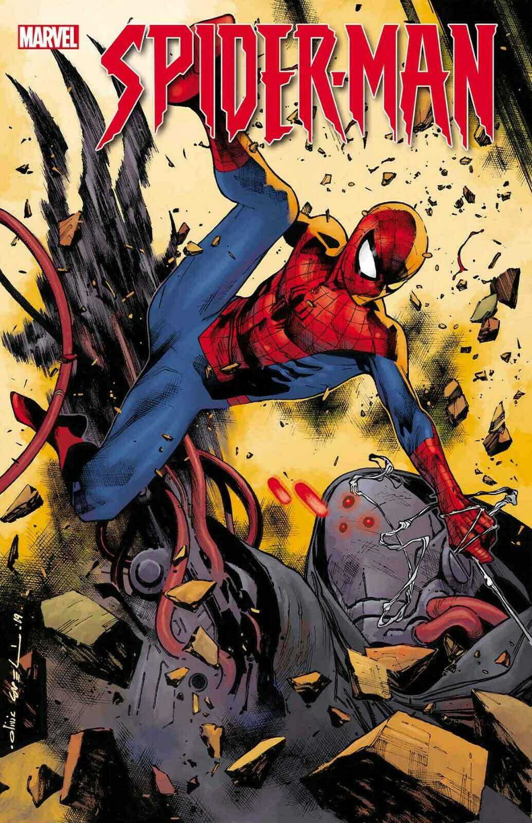 Portada Spider-man J.J. Abrams