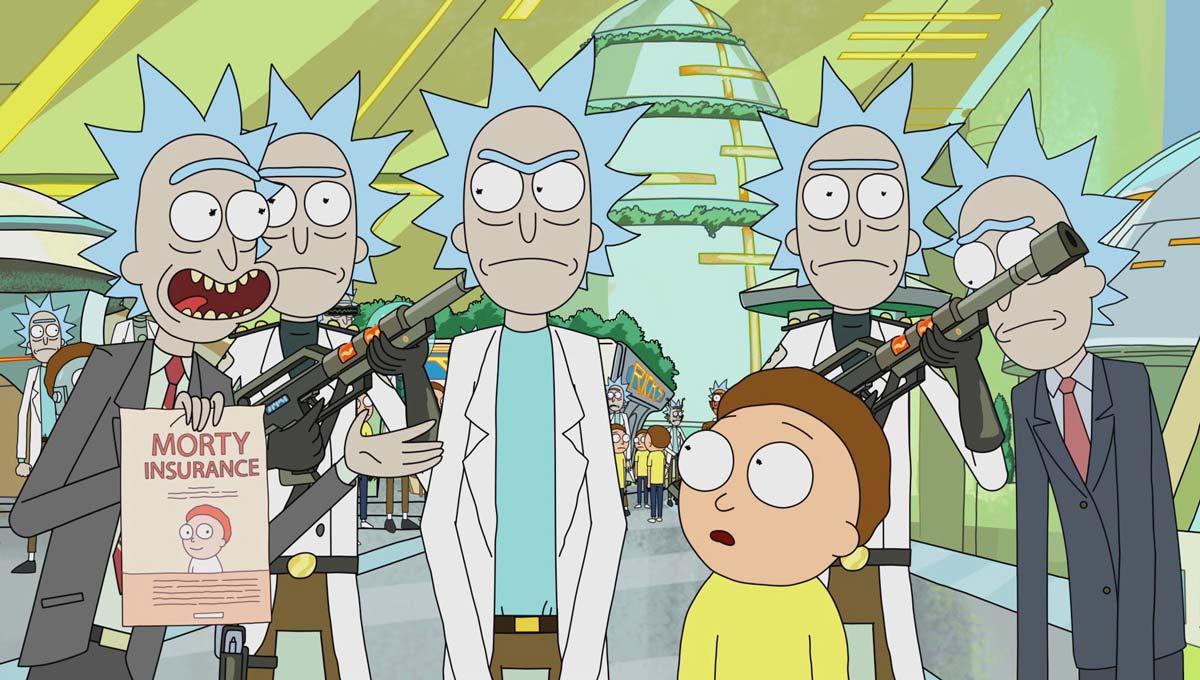 Rick y Morty temporada cuatro revela el título de sus episodios