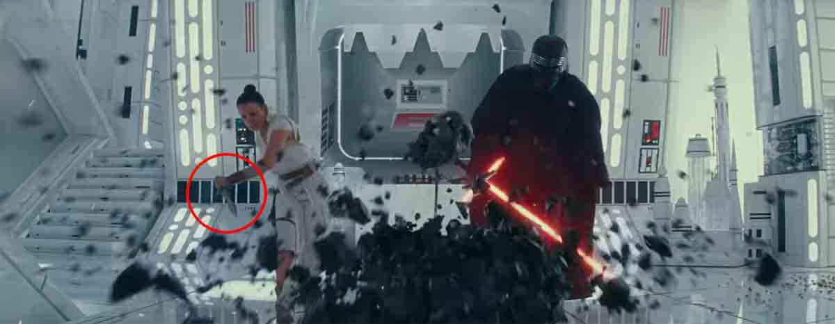 Star Wars 9: ¿Por qué Rey y Kylo Ren destruyen el casco de Darth Vader?