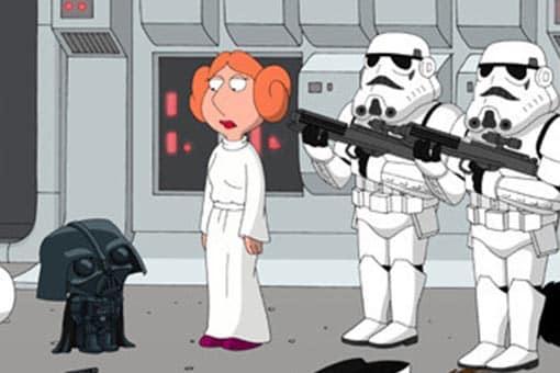 Star Wars: El ascenso de Skywalker. El trailer fue parodiado por Padre de familia