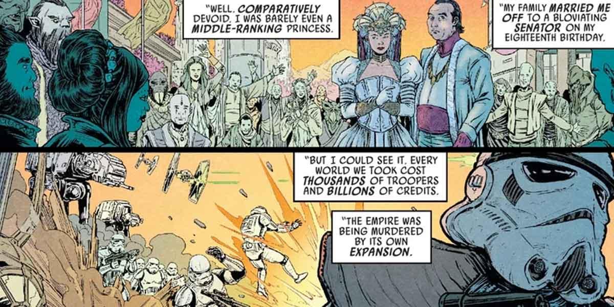 Star Wars revela quien construyó El Imperio y no fue El Emperador