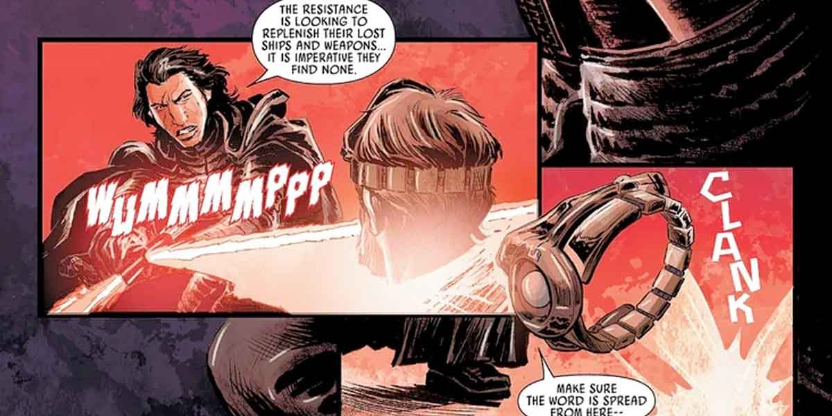 Star Wars revela lo que piensa Kylo Ren sobre El Imperio