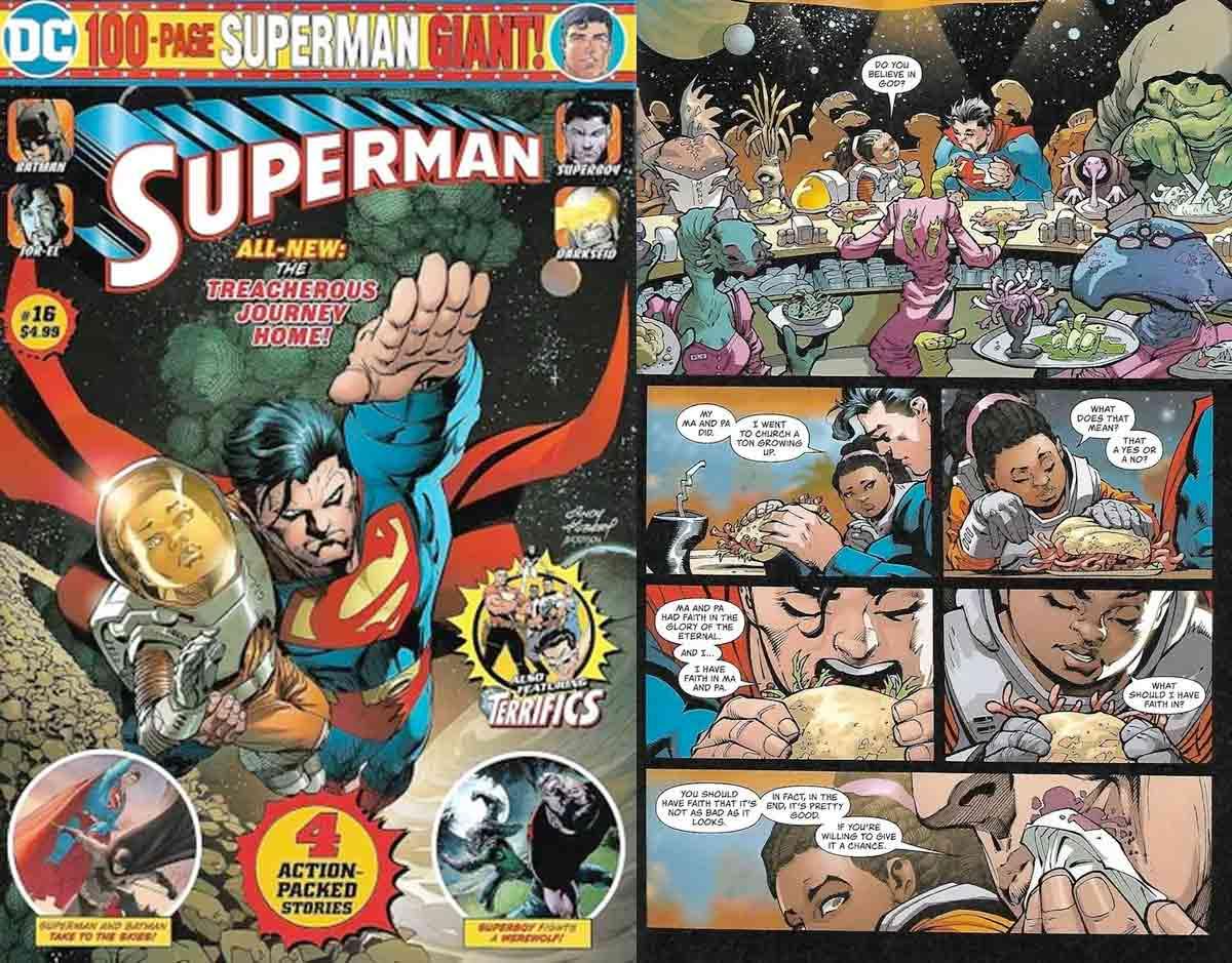 ¿Cree Superman en la existencia de Dios?