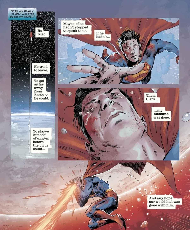 Superman ¿Qué le ocurrirá al mundo ahora que es un zombi?