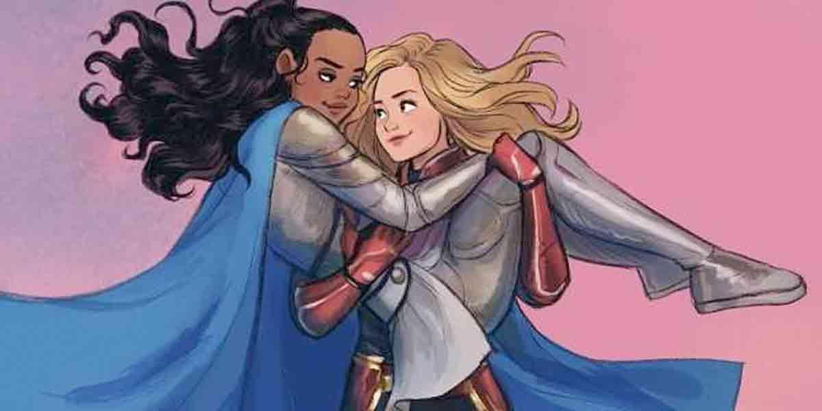 ¿Habrá una relación entre Capitana Marvel y Valkiria en las películas?