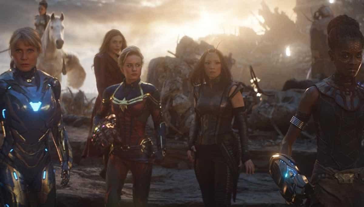 "Vengadores: Endgame. Elizabeth Olsen habló sobre la escena ""Girl Power"""
