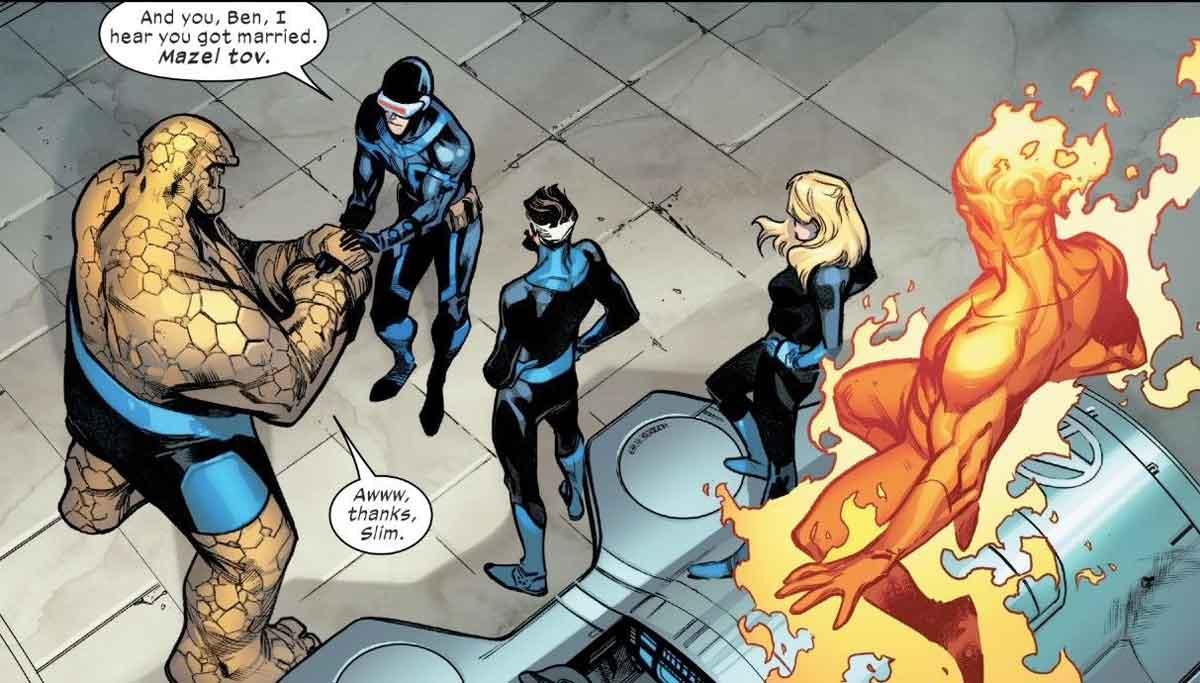 Marvel anuncia un crossover entre X-Men y Los Cuatro Fantásticos