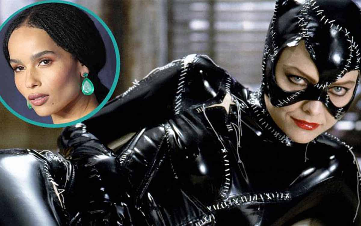 Zoë Kravitz, la nueva Catwoman, recibe consejos de Michelle Pfeiffer