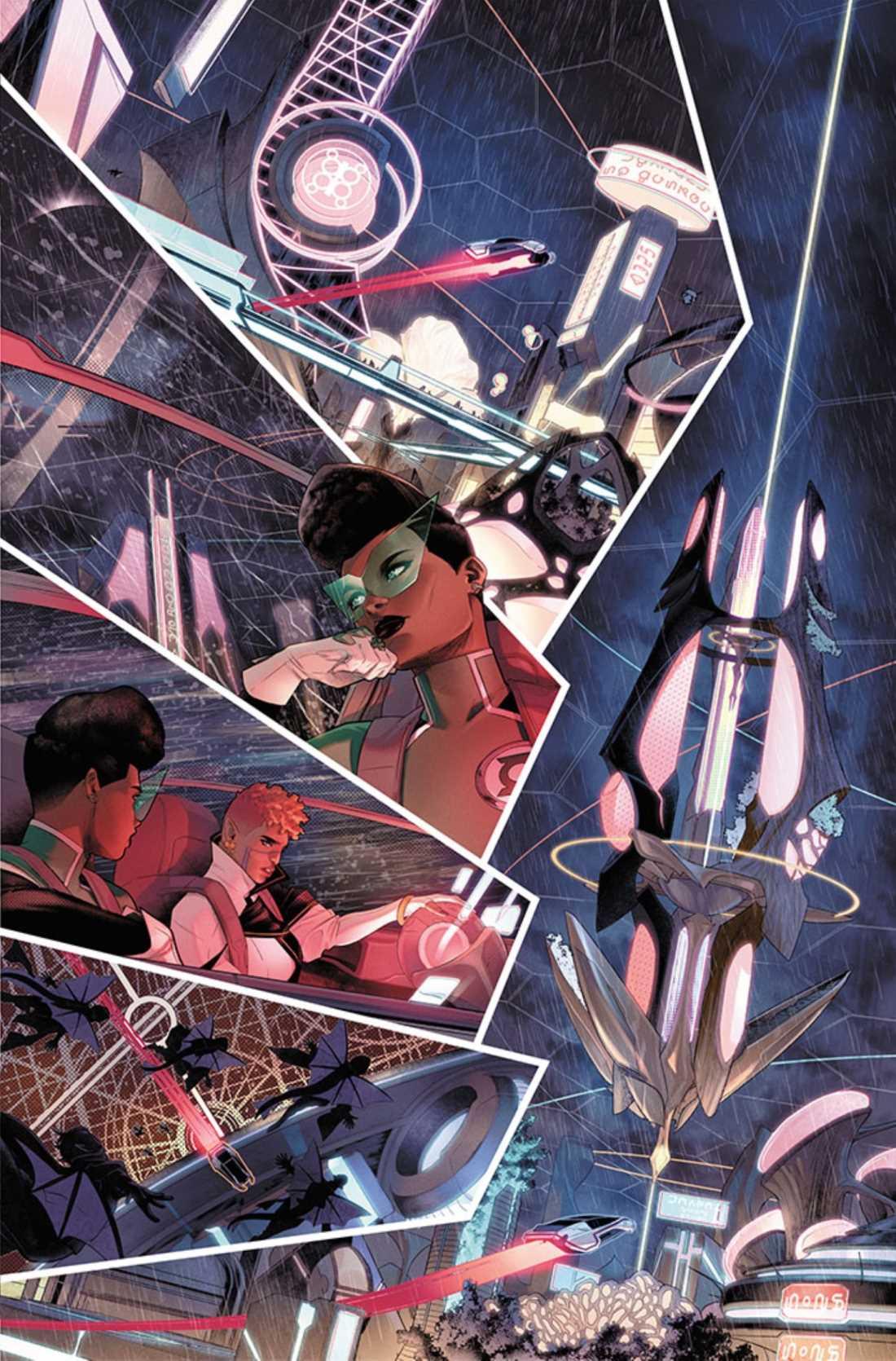 Green Lantern: Far Sector presenta el próximo héroe cósmico de DC