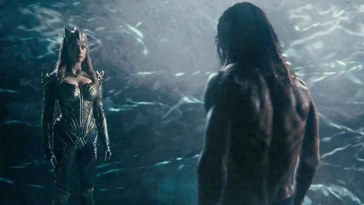 Imagen de Amber Heard en Liga de la Justicia de la versión Zack Snyder