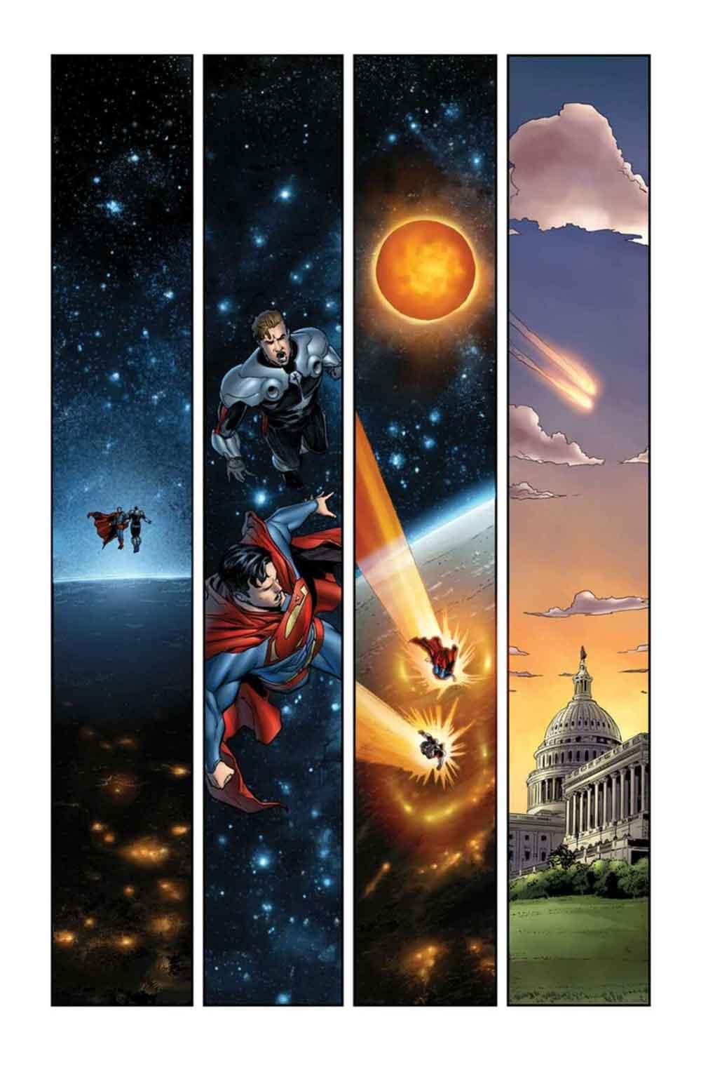 Superman en Green Lantern: BLACKSTARS de Grant Morrison