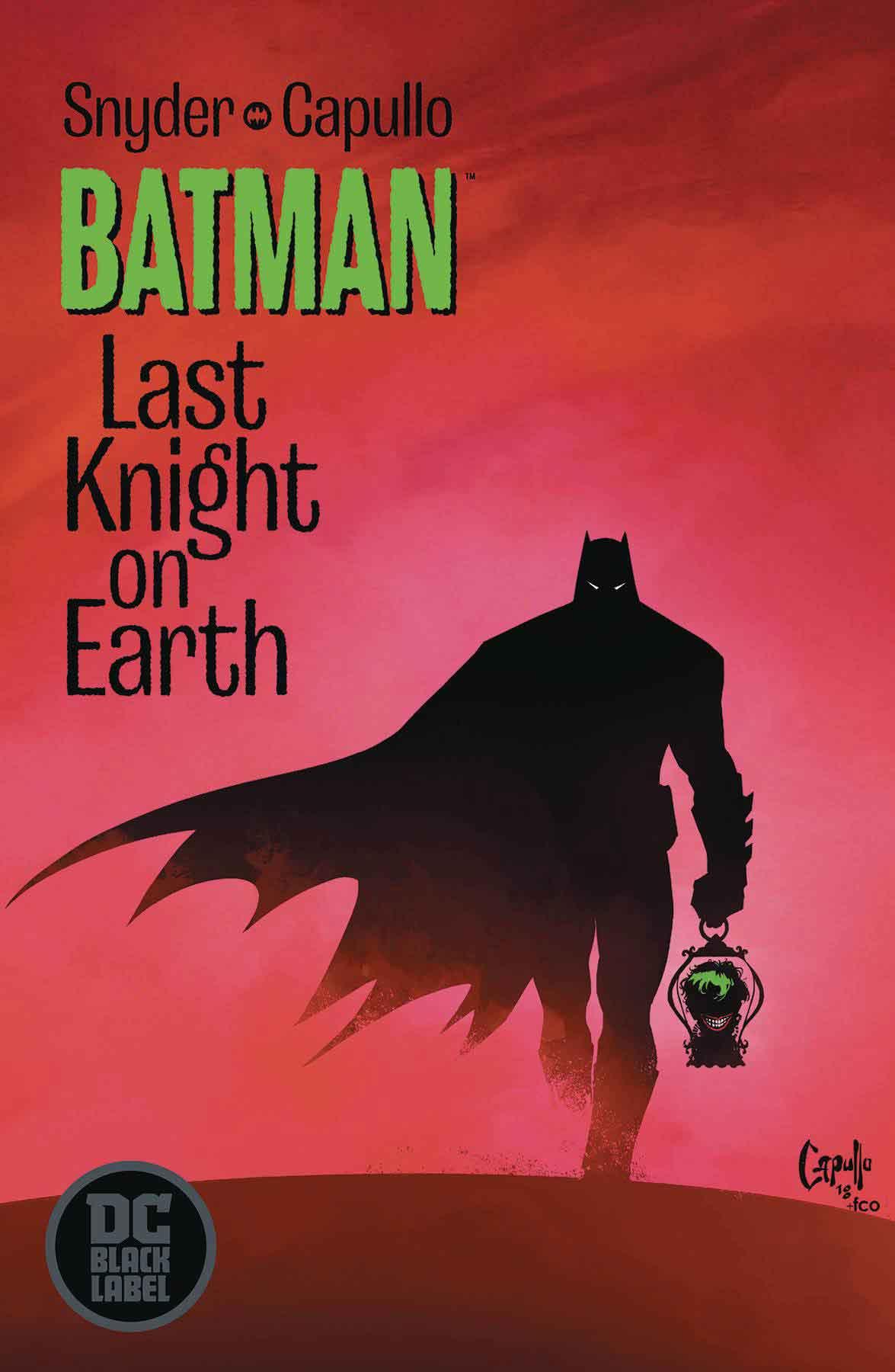 Portada de Batman: El último caballero de la Tierra