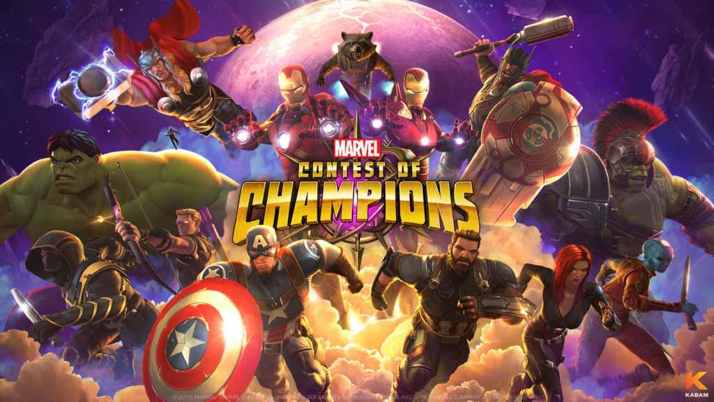 Vengadores: infinity war II Contest of Champions